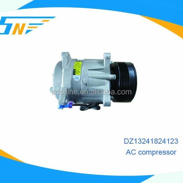SHACMAN heavy truck A/C parts , A/C compressor DZ13241824123