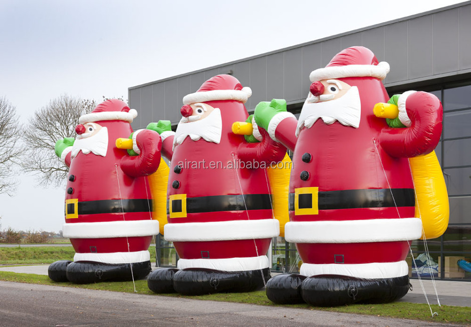 Customized christmas inflatable santa clause buy giant