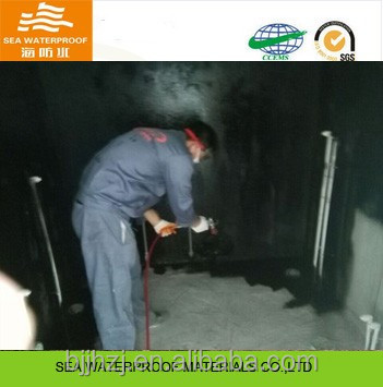 Building Material liquid rubber Asphalt Waterproof Coating for Floor and Wall