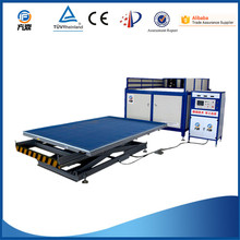 autoclave free safety glass laminating machine with eva film
