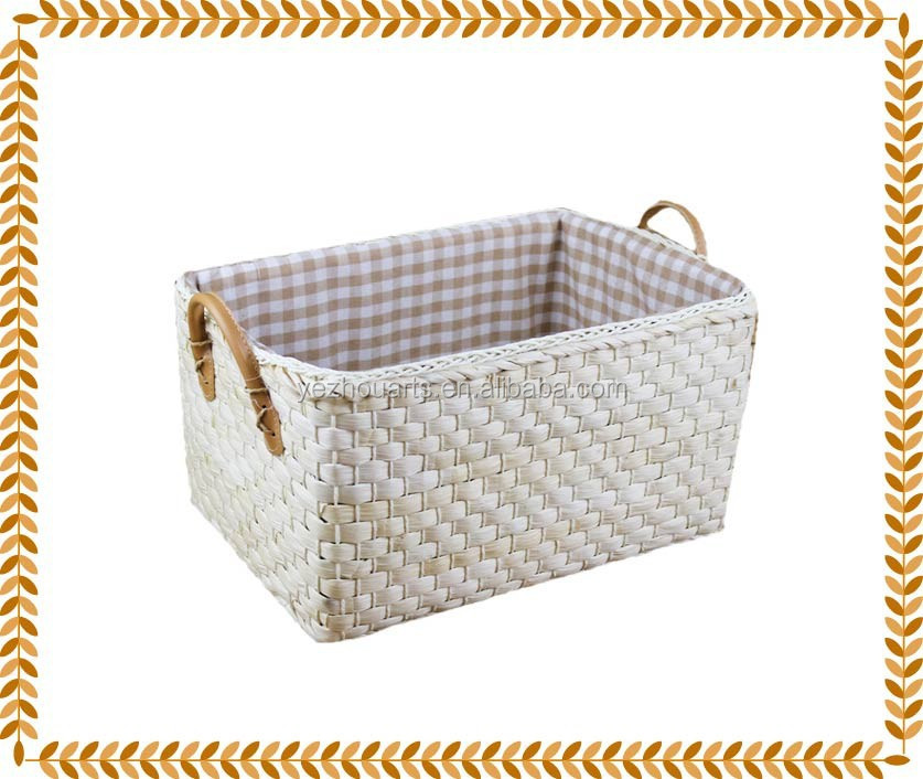 Natural Hand Woven Wicker Hanging Basket