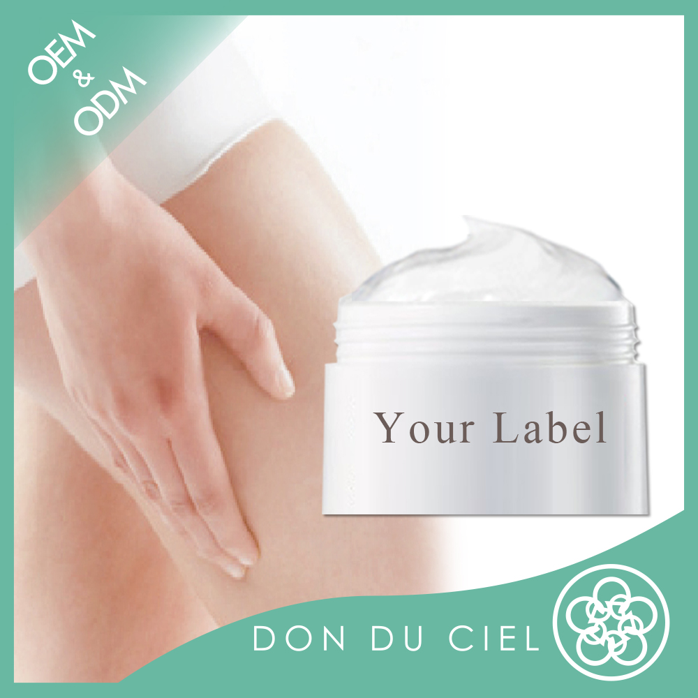 Taiwan skin care private label for leg whitening cream wholesale