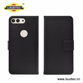 Flip wallet PU leather case for huawei P10 Plus Black