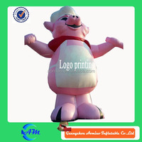 kitchen pig giant inflatable pig customized inflatable advertising animal