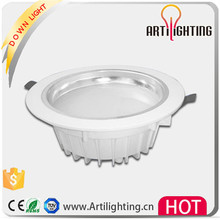 2015 high power led downlight 9 watt