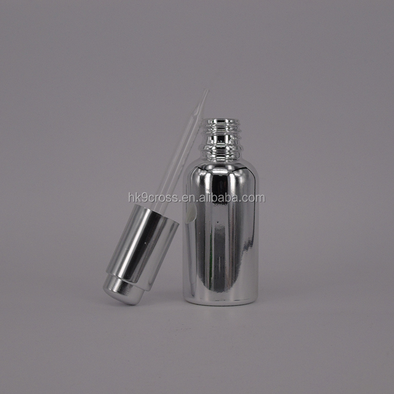 cosmetic jar luxurious perfume oil in dubai chemical glass bottle 30ml with dropper cap