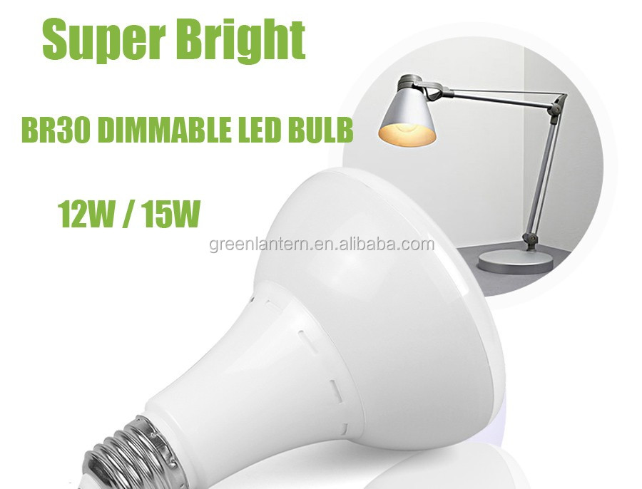 E27 E26 BR30 12W led Flood Recessed Dimmable LED Light Bulb 70w Replacement 110V white warm white 900 Lumens
