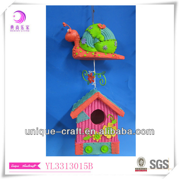 Turbo hanging decorative birdhouses for sale cheap