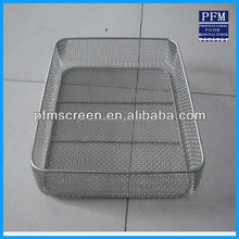 Anti-corrosion Medical Stainless Steel Disinfecting Basket