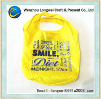 printed plastic shopping bag/tote bag/custom made plastic bags