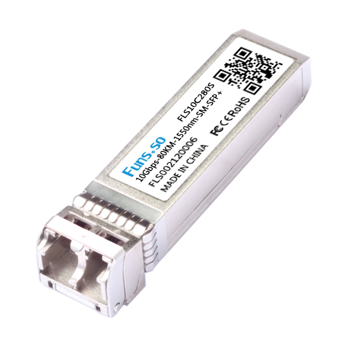 10G 80KM 1550nm SM SFP+ optical module