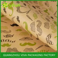 Hot Sale Top Design printed money wrapping paper in guangzhou