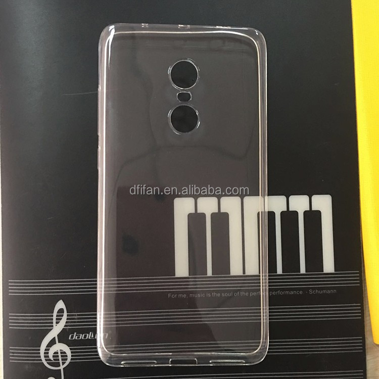 Redmi Note 4 Case, 2017 <strong>Hot</strong> Sell Back Cover case for Redmi Note 4 Transparent Clear TPU Case