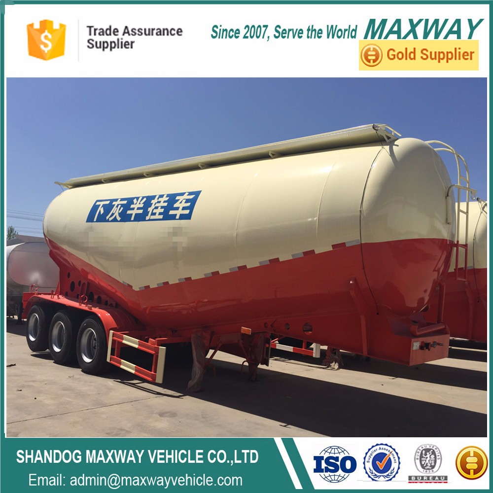 60 Tons Capacity Cement Bulk Tanker For Sale BulkCement Tank Trailers