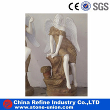 White human statue sculpture for garden decoration