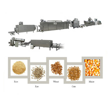 Various Molds corn flake making machine/corn flakes production process