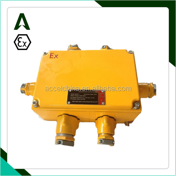 IP65 explosion proof enclosure junction box connection box
