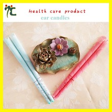 trumpet shaped beeswax ear candles for care supplier