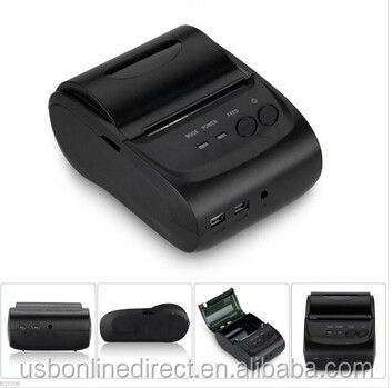 Universal 58mm thermal printer bluetooth receipt printer bluetooth printer USB + serial port (for Windows + android+IOS)