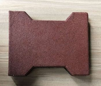 dog bone rubber paver rubber brick