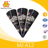 Packaging Product For Ice Cream Paper Cone