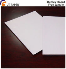 paper product one side coated duplex board grey back