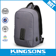 15.6 inch laptop backpack with usb charge Computer Bag backpack for men women