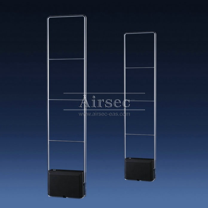 AIRSEC Crystal dual RF retail EAS security entrance gates