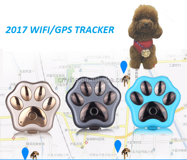 Micro Long Distance Outdoor Wifi Anti-Lost Alarm Locator Collar Waterproof Gsm Dog Cat Pet Mini Gps Tracker