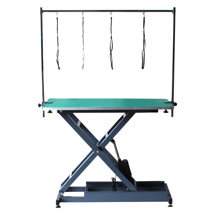 After-sales service provided electric large portable pet grooming table
