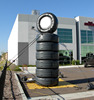 Outdoor signs giant inflatable tires, custom inflatable tires