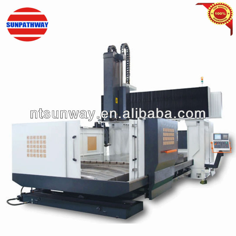 large double column cnc vertical machine center 5 axis LM-4027