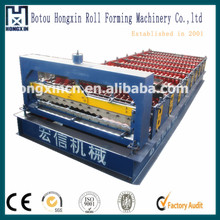 Corrugated wall panel manufacturing equipments/building material as construction machinery wall tiles plate cold roll forming