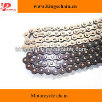 Yellow High Quality alloy 428 motorcycle roller chain