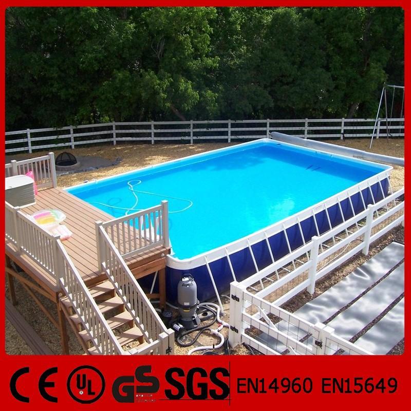 outdoor rectangular above ground portable swimming pool buy portable swimming pool swimming