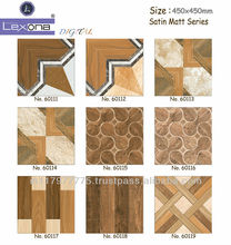 DESIGN RANGE IN CERAMIC FLOOR TILES