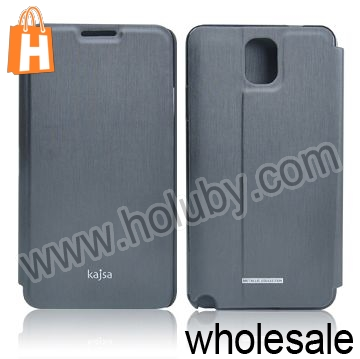 Kajsa Stand Flip Leather Case for Samsung Galaxy Note 3 N9000 N9002 N9005