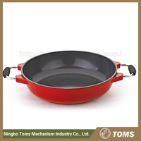 Top Quality environmental friendly Aluminium Cookware Copper Saute Pan