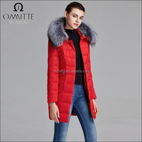 Woman Cotton Padded Jacket with Hooded Fur Collar Winter Light Soft Shell Jacket Bulk Wholesale