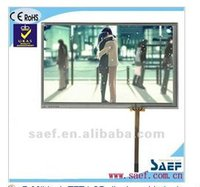 7 inch TFT LCD with 4 wire resistive touch screen panel