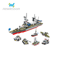 novelty educational building blocks cruise boat toys from china