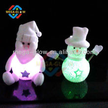hot sell different choice 2014 Christmas led EVA Snowman