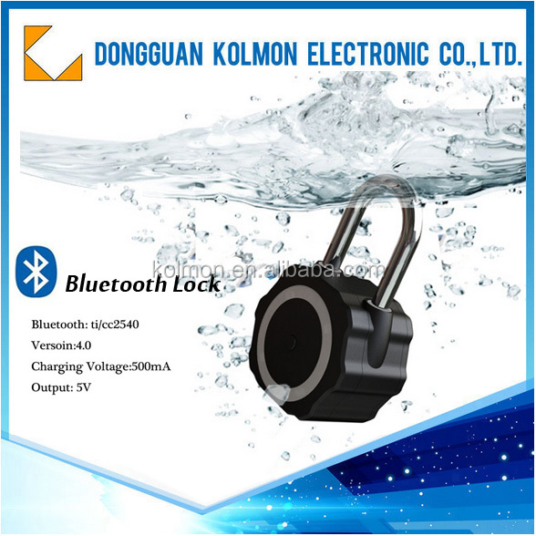 Manual and automatic unlock stainless steel padlock-WITH SIX MONTH STOCK RETURN POLICY