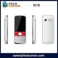 M16 1.8 inch portable mobile phone original sim card land phone