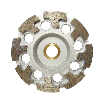T Segment Diamond Grinding Disc Cup Wheel for Stone Granite Marble Concrete Tile