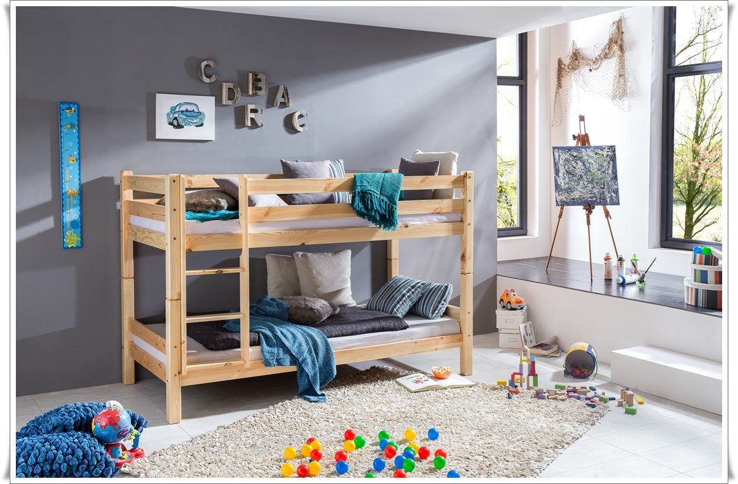 Bunk Bed Bernd color nature