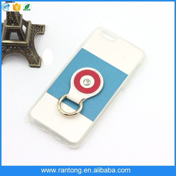 New fashion colorful ring cell phone case with display stand for iphone