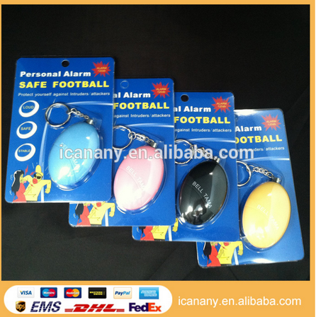 Egg Shape Personal Safety Minder Anti-Rob Alarm angel wing anti-rape device personal alarm
