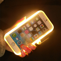 2016 popular stylish Selfie light up led lumee case for Iphone