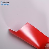 Hot selling self adhesive pvc sheet for photo album made in China